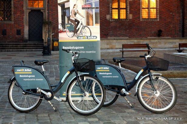 Nextbike stworzył system miejskiego roweru we Wrocławiu Nextbike