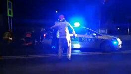 Potrącił pieszego i policjanta