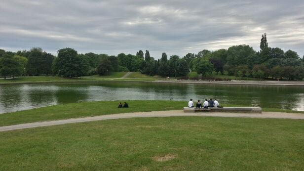 Mieszkańcy chcieliby, aby na Polu Mokotowskim powstało kąpielisko Mateusz Szmelter / tvnwarszawa.pl