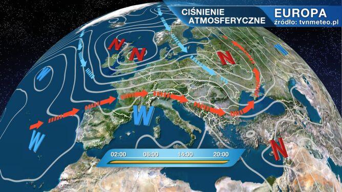 Pogodą w Polsce rządzi niż Heinz