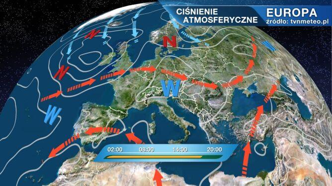 Wyż Pia kształtuje pogodę w Polsce