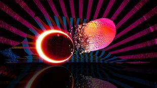 Kolizja dwóch osobliwych obiektów w kosmosie. Czarna dziura pożera gwiazdę neutronową