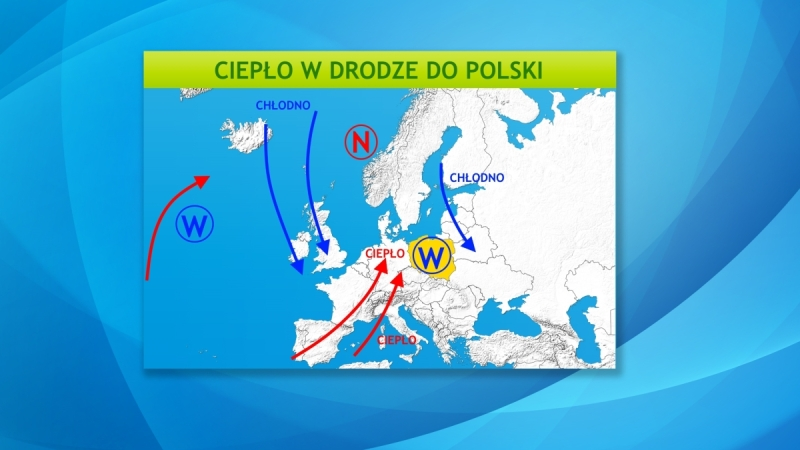 Ciśnienie atmosferyczne w Europie
