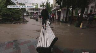W powodziach na Krymie zginęła jedna osoba