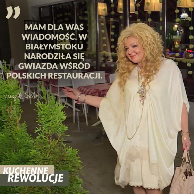 Kuchenne Rewolucje W Białymstoku, Magda Gessler, TVN, Sukces